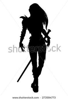 spear silhouette woman - Sök på Google