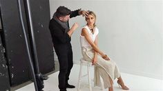 Behind the scenes with Olivia Palermo for ELLE Australia October 2014