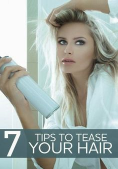 How To Tease Your Hair 7 Tips | Hair and Salons