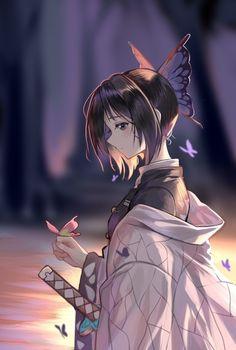Anime Angel, Chica Gato Neko Anime, Chica Anime Manga, Demon Slayer, Slayer Anime, Sad Anime, Anime Demon, Kawaii Anime Girl, Anime Art Girl
