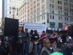 May Days march and rally for immigrant and labor rights.