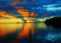 sunset in Pohnpei