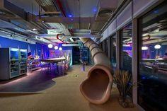 Google's Fresh New Offices in Tel Aviv.
