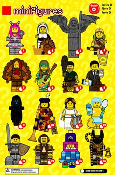 Lego Minifigure Display, Lego Custom Minifigures, Lego Minifigs, Legos, Pokemon Lego, Lego Wallpaper, Lego Creator Sets, Avengers, Lego People
