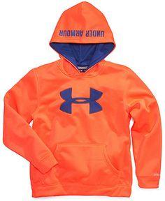 Under Armour Kids Hoodie, Boys Big Logo Hoodie - Kids - Macy's