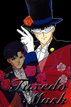 """Which """"Sailor Moon"""" Character Are You? Apparently I'm Tuxedo Mask... :s Hes just to cute!"""