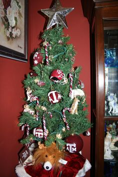 Our Aggie Christmas tree