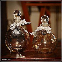Polotovary - Elegantná flaštička - guľatá - 5307747_