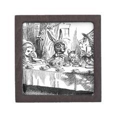 Mad Hatter Premium Jewelry Boxes #AliceinWonderland #MadHatter #JewleryBox