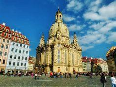 Alemania   -   Dresdner Frauenkirche – ''La Iglesia de nuestra señora, Dresde''
