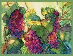 Grapes are Ripening by Til-Til.deviantart.com on @DeviantArt