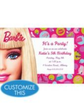 off Barbie party tableware! Shop for Barbie Party Supplies, birthday decorations, party favors, invitations, and more. Barbie Theme Party, Barbie Birthday Party, Party Themes, Birthday Ideas, 4th Birthday, Party Ideas, Party Party, Birthday Parties, Barbie Birthday Invitations