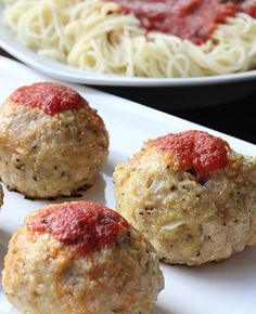 Try this Parmesan infused chicken meatball!
