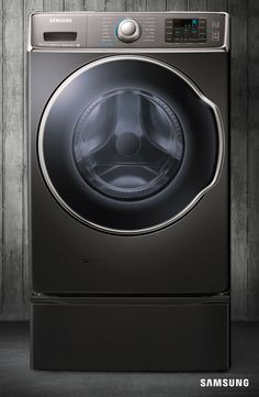 Bundle up with plenty of layers this winter. Samsung's 9100 Series Front Load Washer can help you tackle up to 4 laundry baskets in a single load. Spend less time in the laundry room and more time enjoying the snow. Samsung Washing Machine, Laundry Room Design, Laundry Rooms, Front Load Washer, Home Appliances, Laundry Appliances, Washer And Dryer, Laundry Baskets, Sweet Home
