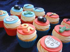 Disney Cars Cupcakes by Alison's Bakery, via Flickr