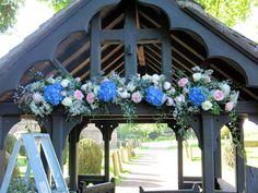 Church lych gate