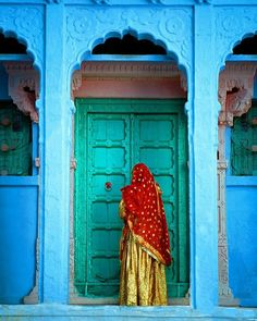 Gorgeous door, India