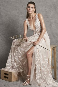 Zuhair Murad Bridal & Wedding Dress Collection Fall 2018 | Brides