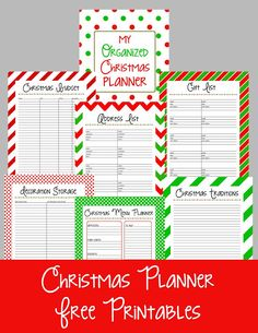 Christmas Planner Free Printables - Here Comes The Sun
