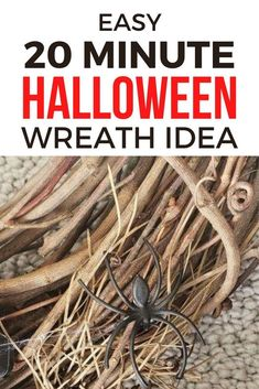 Looking for a cheap Halloween front proch decor idea? check out this DIY Halloween wreath you can make for cheap. Creative Halloween decorations for front door. So check out this dollar store Halloween crafts decor idea. #hometalk Dollar Store Halloween, Cheap Halloween, Halloween Crafts, Fall Crafts, Halloween Party, Fall Door Decorations, Fall Decor, Halloween Decorations, Pumpkin Centerpieces