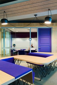 futurespace REA Group Melbourne I like the glass wall but wooden door contrast. But less practical