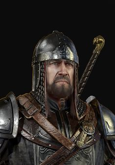 Templar Knight , Tim Turner on ArtStation at… My War, Knights Templar, Medieval Art, Zbrush, Character Inspiration, Vikings, Photoshop, Fantasy, Warriors