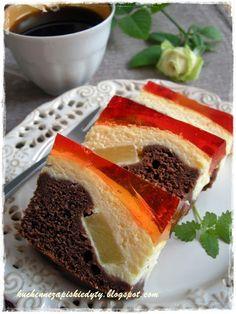 Cake nature fast and easy - Clean Eating Snacks Polish Desserts, Polish Recipes, Easy Cake Recipes, Sweet Recipes, Dessert Recipes, Food Cakes, Cupcake Cakes, Cupcakes, Kolaci I Torte