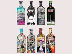 Absolut vodka - packaging design