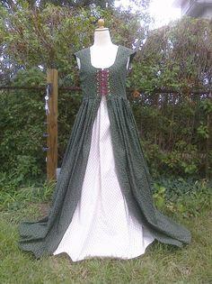Irish Scottish Renaissance Dress and Skirt