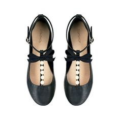 2c73fc0bc27 Leather Flats ... elle.com Topshop Shoes