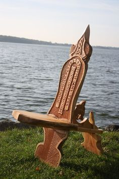 viking carving wood