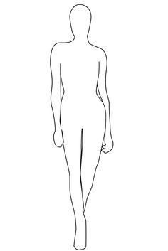 how to draw manikins for fashion
