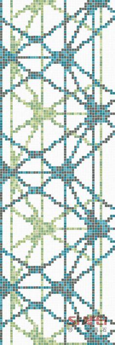 Art Crystal Glass Mosaic Mural PT-016(Size: 1000x2400mm)