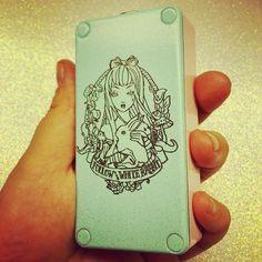 Shimery Baby Blue / Baby Pink Alice box   - Vape - Vaper - Dampfen - Dampfe - e-zigarette - ecig - mechanical Box Mods - Cloud Chaser