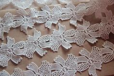 White Floral Lace Trim Embroidery Hollow Out Lace Trim Inches Wide 2 Yards Tulle Lace, Lace Fabric, Lace Applique, Corsage, Burlap Wreath, Floral Lace, Hair Pins, Happy Shopping, Lace Trim