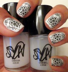 """Syn Cosmetics solar-changing colors """"Sunkissed"""" and """"Solar Skies"""" July 2012 Solar Nails, Fancy Schmancy, Nail Inspo, Manicure, Nail Polish, Cosmetics, Beauty, Makeup, Colors"""