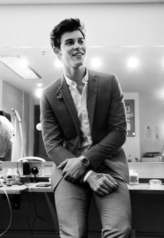 Is it just me or his smile could save people's lives