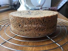 Makový dort s ovocem (bez mouky) Cheesecake, Paleo, Cupcakes, Bread, Cheesecakes, Cupcake, Cupcake Cakes, Breads, Cup Cakes