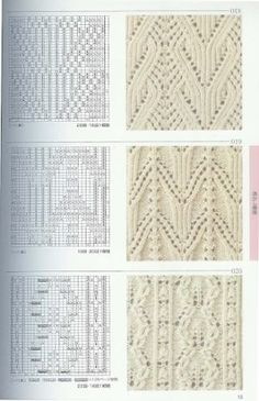 japanese lace charts by alyce.kalb