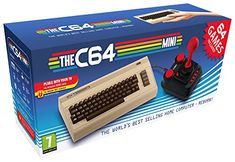 The best selling home computer has been reborn with the Mini console. This mini Commodore comes packed with 64 games pre-installed, joystick, all in HD. Cabo Hdmi, Joystick, Mini Usa, Deep Silver, Home Computer, Video Game Console, Consoles, Videogames, Usb Flash Drive