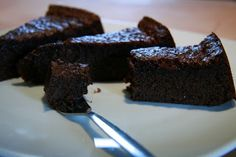 Schokoladenkuchen mit Fingerableck Garantie