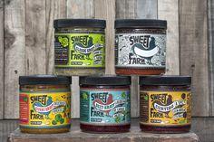 Sweet Farm Sauerkraut Label Design on Packaging of the World - Creative Package Design Gallery