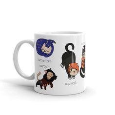 Magical Harry Potter Cats Mug