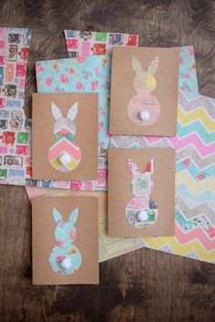 Pâques DIY : faire sa décoration éphémère - Clem Around The Corner - manualidades Diy Easter Cards, Easter Gifts For Kids, Diy Cards, Easter Crafts, Diy For Kids, Preschool Crafts, Crafts For Kids, Tarjetas Diy, Diy Ostern