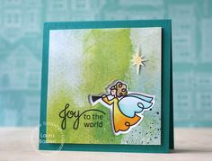 Paper Smooches~Christmas Blessings dies- stamps and dies match- great way to do that