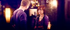 """Warehouse 13 Steve: """"I'll let you get back to your 'me' dance."""" Claudia: *sass*"""