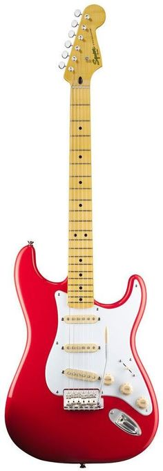 Squier Classic Vibe '50s Stratocaster The Classic Vibe Stratocaster '50s provides unmistakable '50s-era Fender vibe and tone. The alder body has a Two-Color Sunburst, Lake Placid Blue or Olympic White