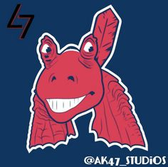 MLB Team Logos Redesigned As Star Wars Characters. This just about sums up how I feel about cheif  wahoo. Obvious obnoxious offensive stereotype.