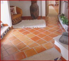1000 images about floors on pinterest mexican tiles - Piso de barro ...