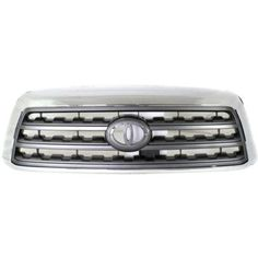 Toyota Sequoia Grille,Black Shell/gray ShellPlease note: this Toyota Sequoia Grille,Black Shell/gray Shell is styled for a Toyota Sequoia. Order your Toyota Sequoia Grille,Black Shell/gray Shell from Classic 2 Curren. Toyota, Shells, Chrome, Grey, Classic, Black, Sport, Note, Style